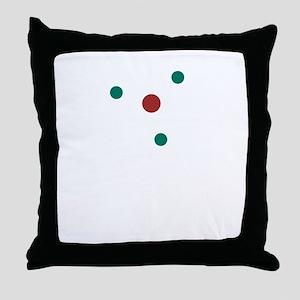 atom2 Throw Pillow