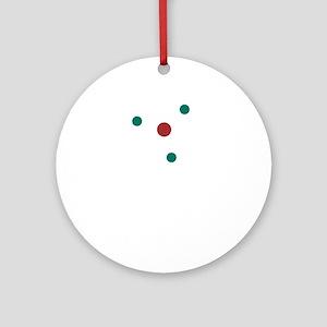 atom2 Round Ornament
