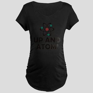 atom Maternity Dark T-Shirt