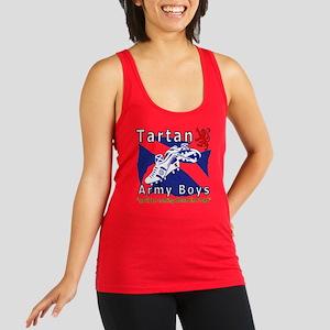 Tartan Army Boys_Coming 2012 Racerback Tank Top