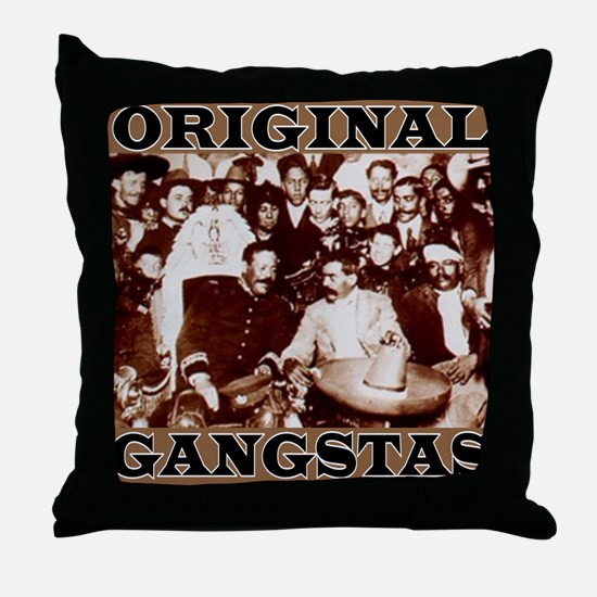 Original Gangstas Throw Pillow
