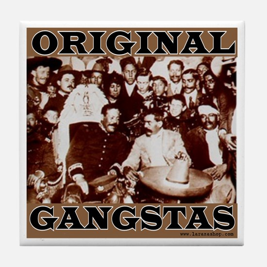 Original Gangstas Tile Coaster