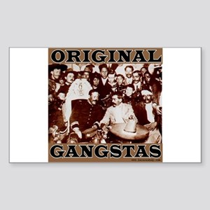 Original Gangstas Rectangle Sticker