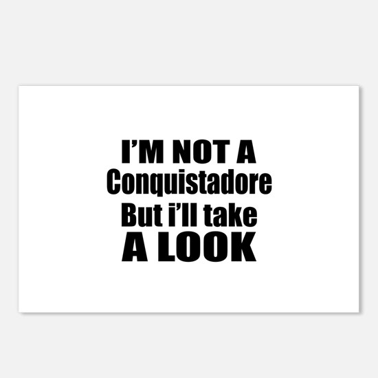 I Am Not Conquistadore Bu Postcards (Package of 8)