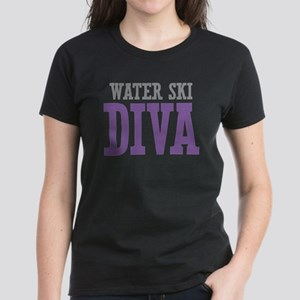 Water Ski DIVA Women's Dark T-Shirt