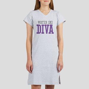 Water Ski DIVA Women's Nightshirt