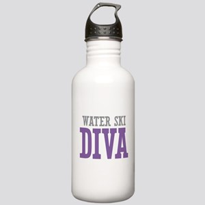 Water Ski DIVA Stainless Water Bottle 1.0L