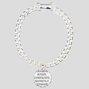 SHARPMIND_WITS_1KX1K Charm Bracelet, One Charm