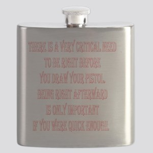 BE_RIGHT_2KX2K_WHITE Flask