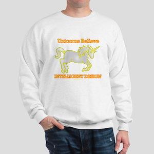 Unicorns Believe - Intelligent Design Sweatshirt