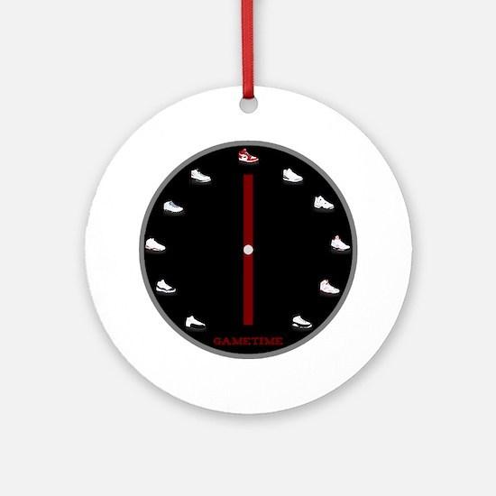 Gametime Jordan Clock Round Ornament