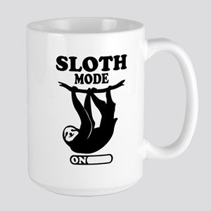 SLOTH MODE ON Mugs