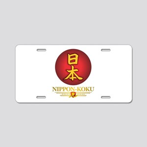 Nippon-Koku Aluminum License Plate