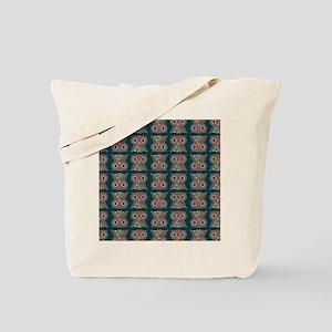 LittleColorOwlpatternipod Tote Bag