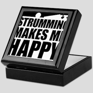 Strumming Makes Me Happy Keepsake Box