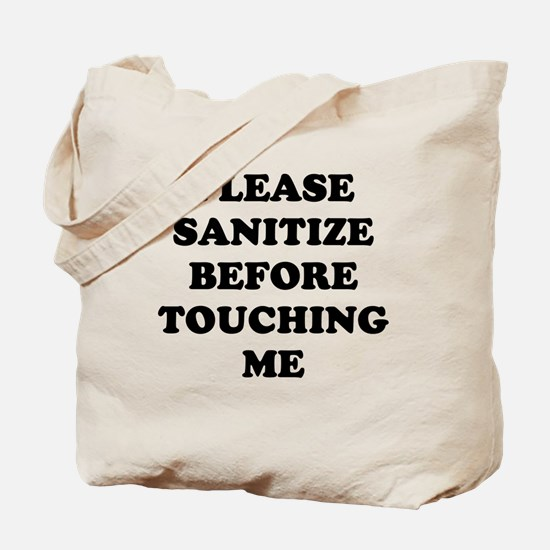 please sanitize Tote Bag