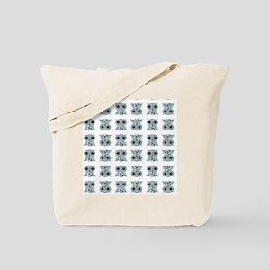 LittleBlueOwl_pattern Tote Bag