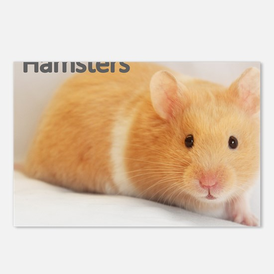 Hamster calendar cover Postcards (Package of 8)