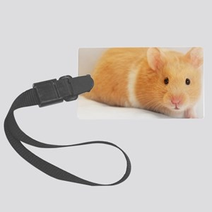 Hamster calendar cover Large Luggage Tag