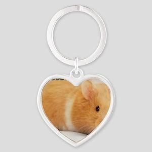 Hamster calendar cover Heart Keychain