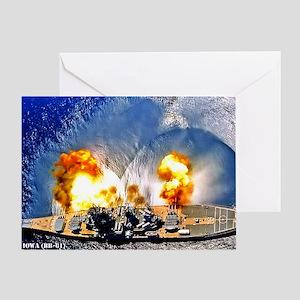 iowa framed panel print Greeting Card