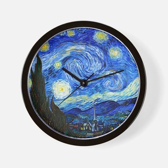12mo VG Starry Wall Clock