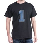 Blue #1 Dark T-Shirt