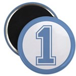 Blue #1 Magnet