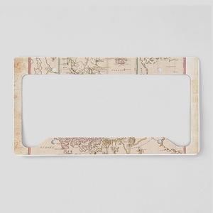 Laptop Skin - Vintage Megella License Plate Holder