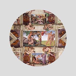 "sistine-chapel-tile 3.5"" Button"