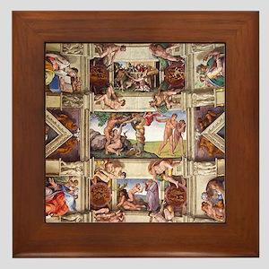 sistine-chapel-tile Framed Tile