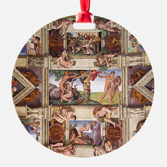 sistine-chapel-tile Ornament