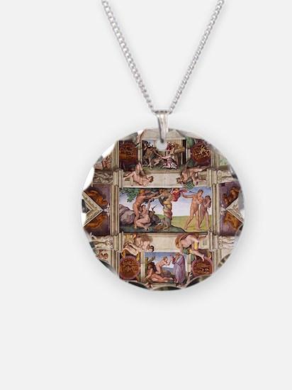 sistine-chapel-tile Necklace