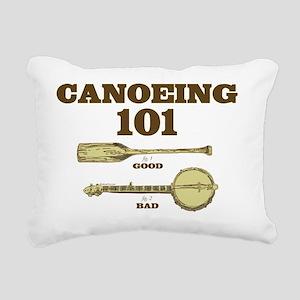 Canoe-101 Rectangular Canvas Pillow