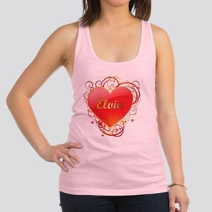 Elvia-Valentines Racerback Tank Top