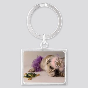 Princess and the Frog Landscape Keychain