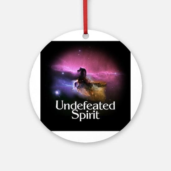 Undefeated Spirit Ornament (Round)