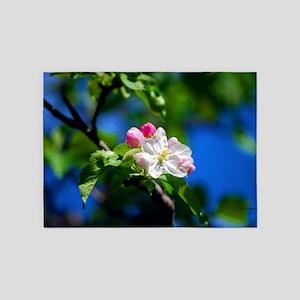 Apple Blossom 5'x7'Area Rug