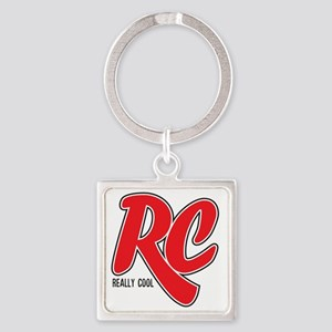 RC_really_cool_sweatshirt Square Keychain