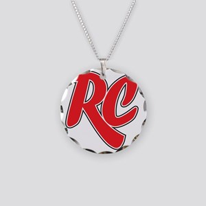 RC_really_cool_white_sweatsh Necklace Circle Charm