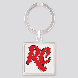 RC_really_cool_white_sweatshirt Square Keychain
