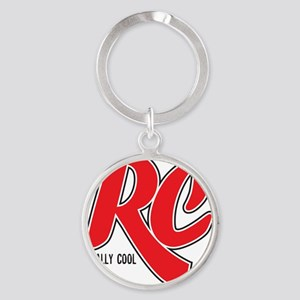 RC_really_cool_water_bottle Round Keychain