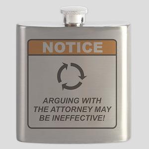 Attorney_Notice_Argue_RK2012_10x10 Flask
