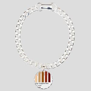 my-cuppa-tea-colour-matc Charm Bracelet, One Charm