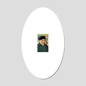 V2 VG Portrait 20x12 Oval Wall Decal
