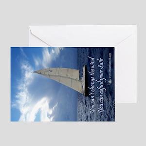 sails_pcard Greeting Card