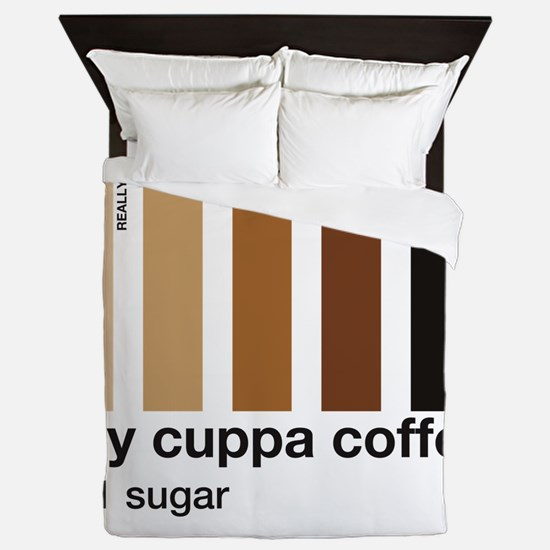 my-cuppa-coffee-1-sugar Queen Duvet