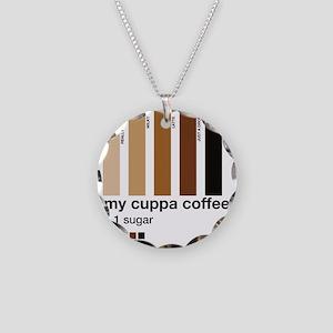 my-cuppa-coffee-1-sugar Necklace Circle Charm