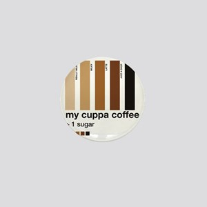 my-cuppa-coffee-1-sugar Mini Button