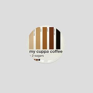 my-cuppa-coffee-2-sugars Mini Button